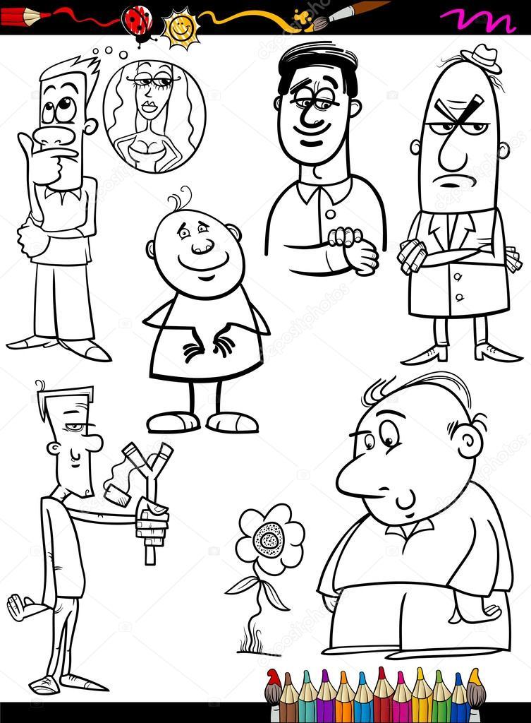 Imágenes: una familia pobre para colorear | gente Configurar página ...