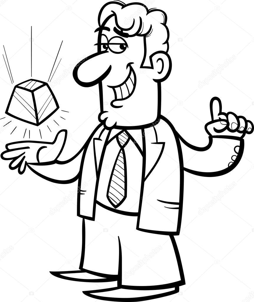 Le célèbre caricature de présentation nouvelle technologie — Image #YN_51