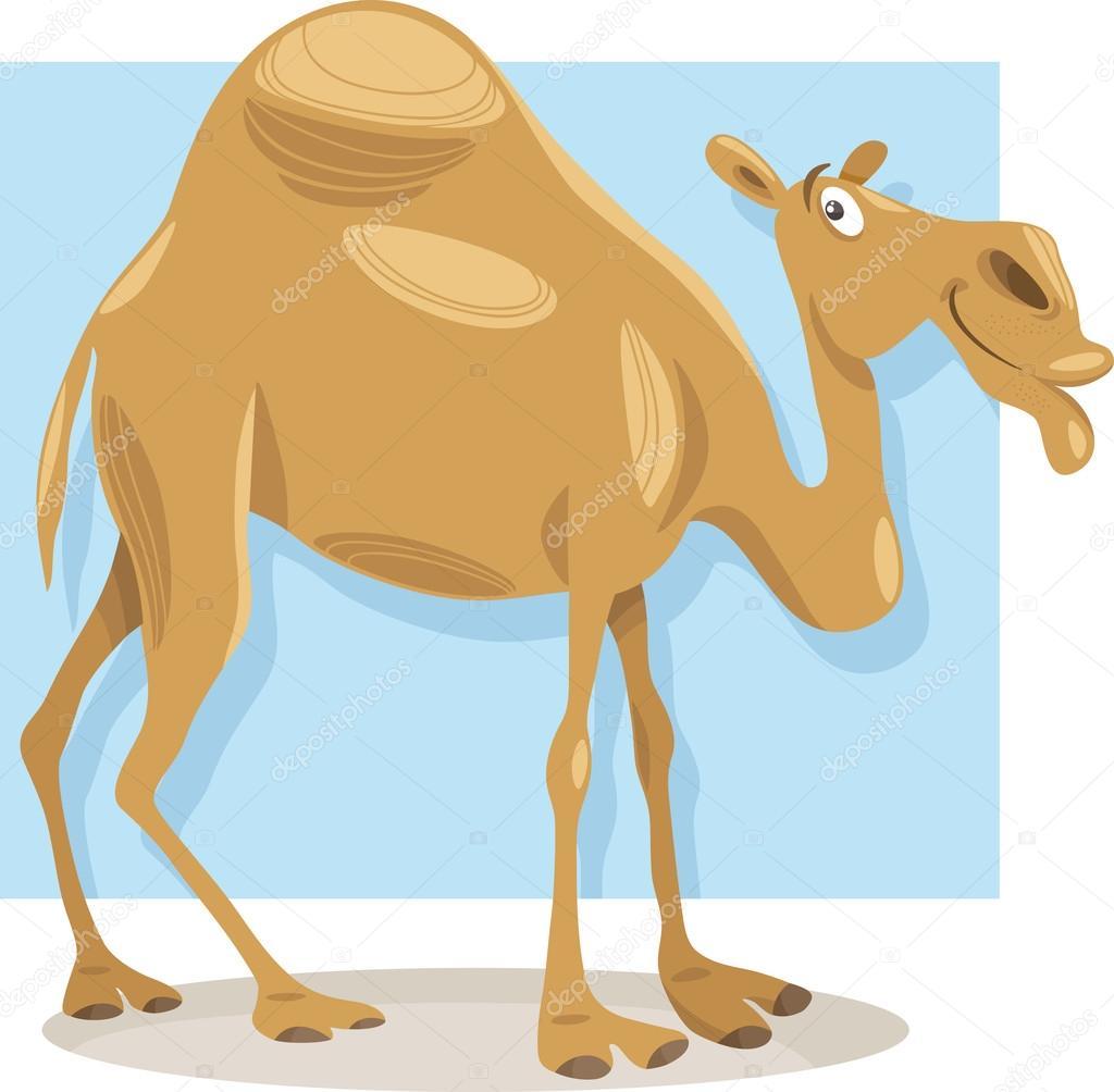 Illustration de dessin anim chameau dromadaire image - Dessin dromadaire ...