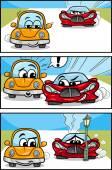 Auta kreslený komediální příběh