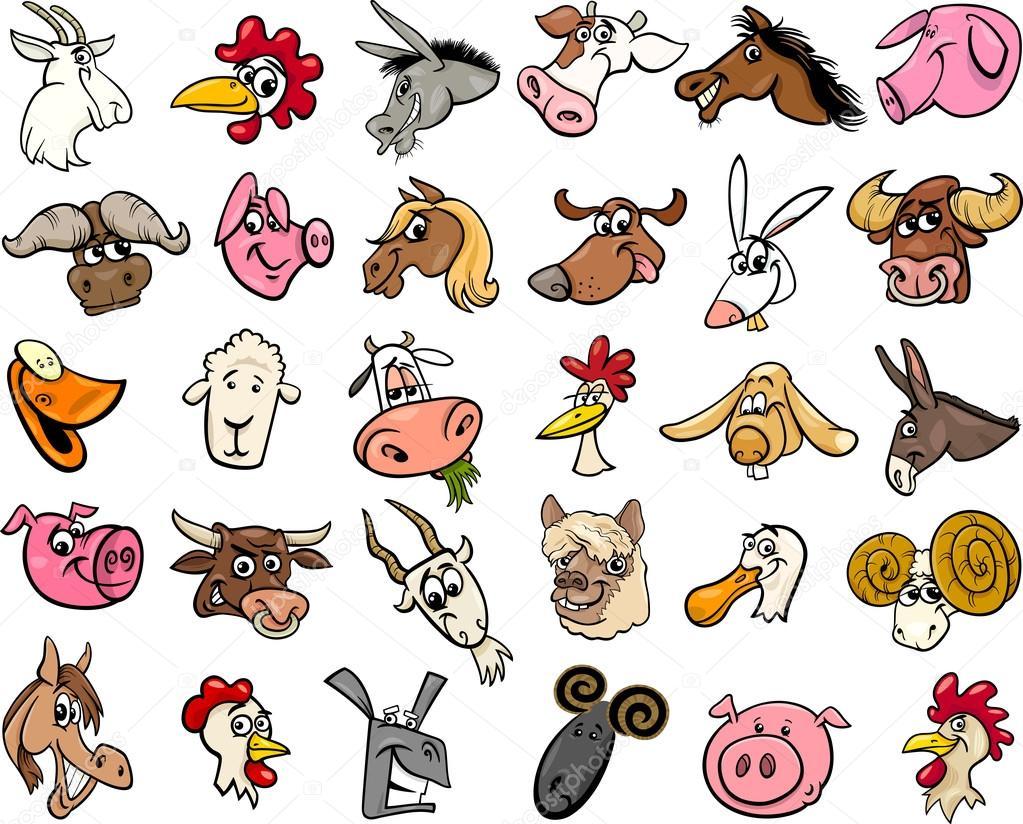 Výsledek obrázku pro zvířata na farmě