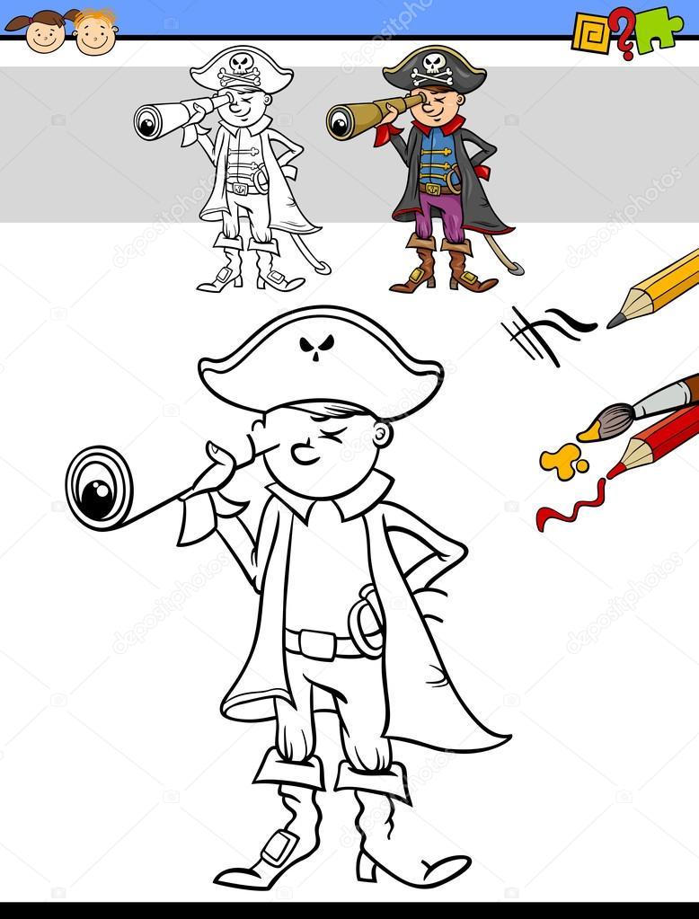 Okul öncesi çizim Ve Boyama Görev Stok Vektör Izakowski 86251776