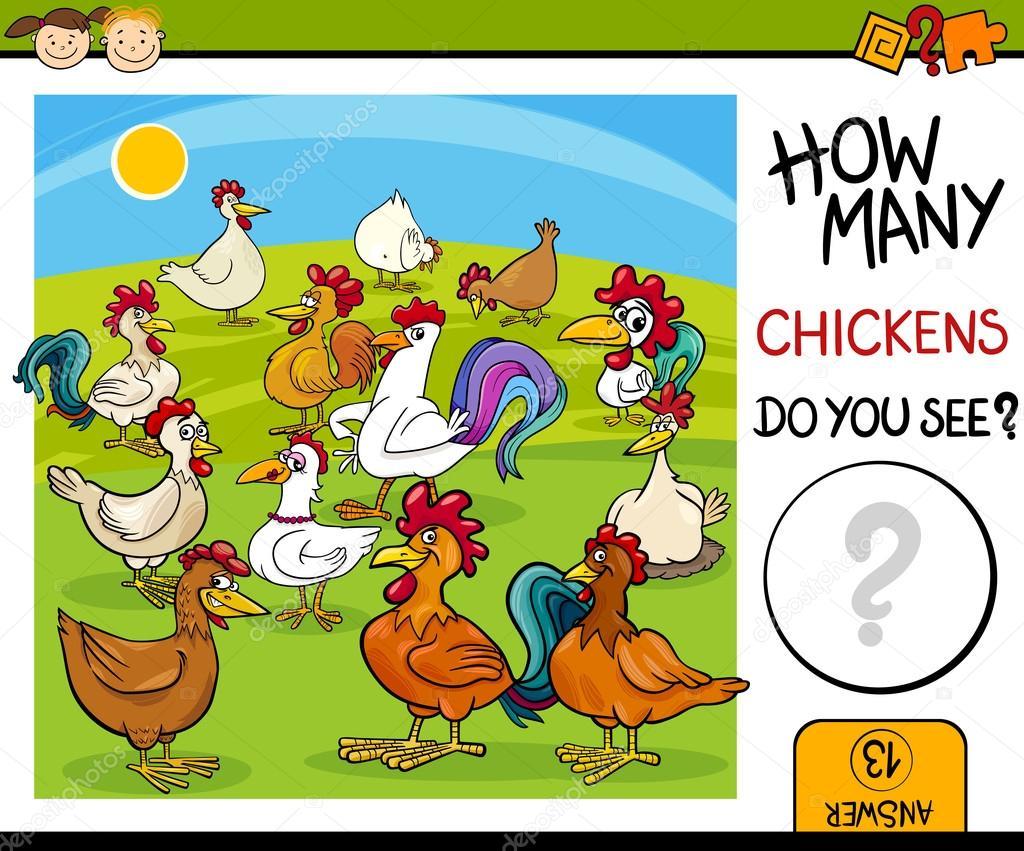 鶏漫画の棚卸作業 ストックベクター Izakowski 89105666