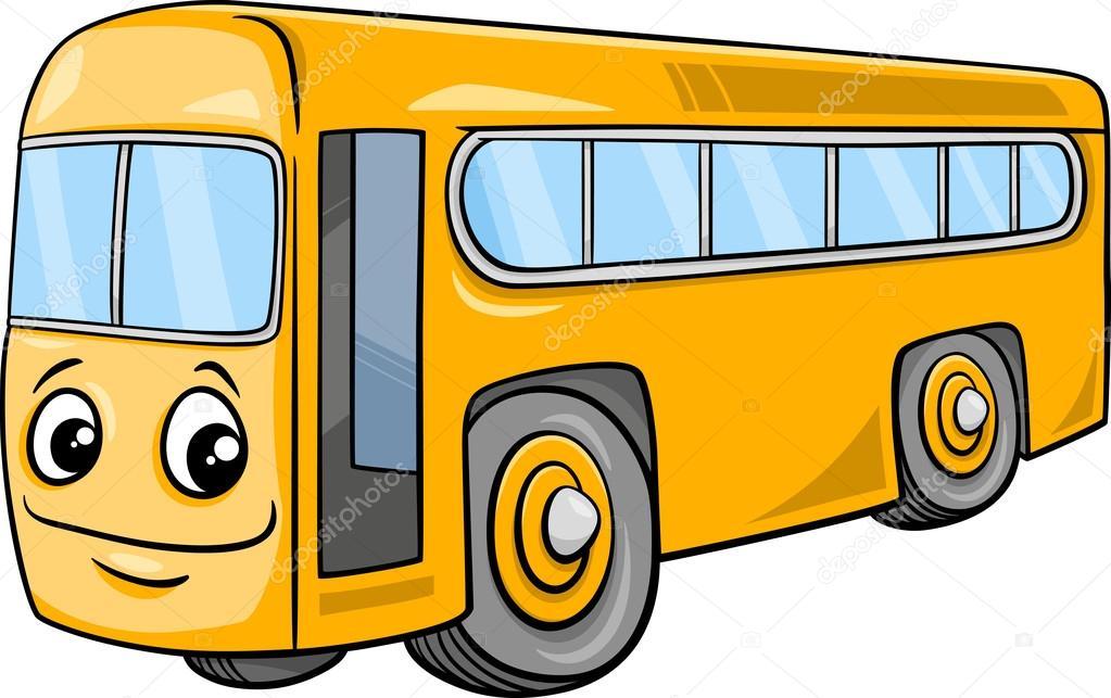 Autobus Charakter Kresleny Obrazek Stock Vektor C Izakowski 91724576