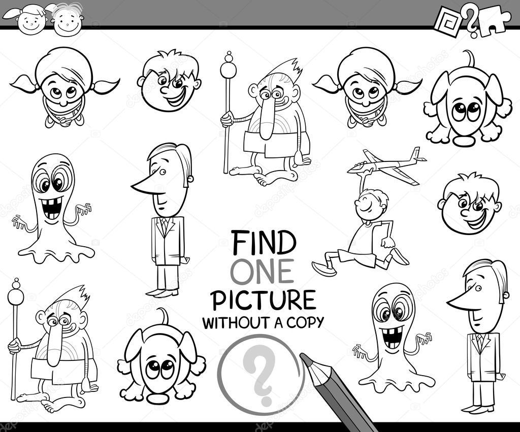 tareas para niños para colorear libro — Archivo Imágenes Vectoriales ...