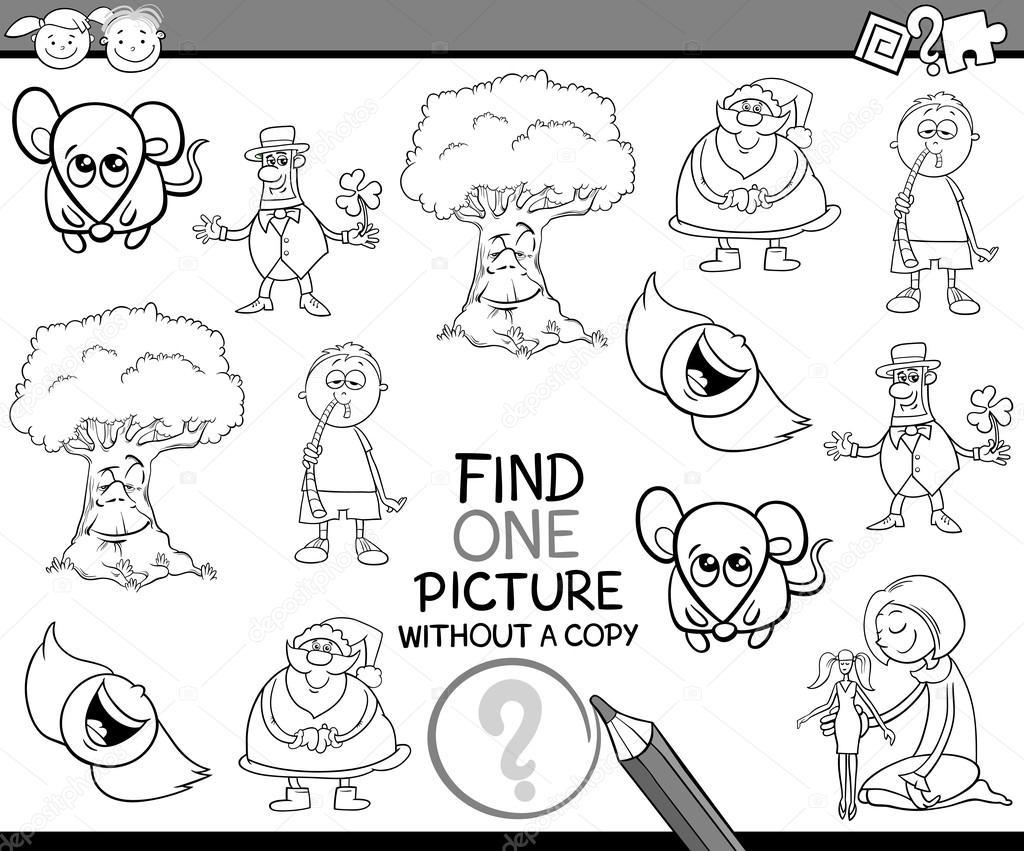 tareas para niños para colorear libro — Vector de stock © izakowski ...