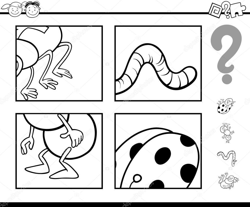 Insectos Para Colorear Preescolar Libro Para Colorear De Insectos