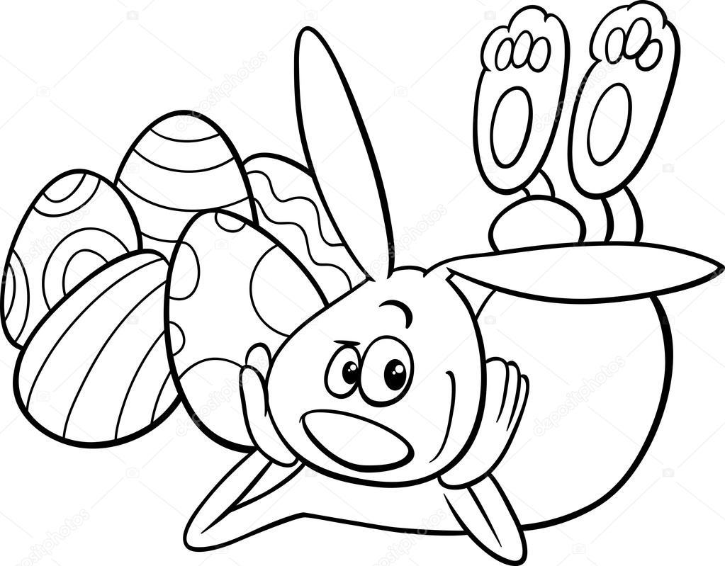 Dibujos De Conejos Para Colorear Caramba T Colores
