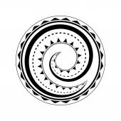 Fotografie Maorský tetování design