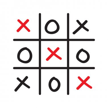 hand drawn tic-tac-toe competition