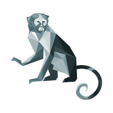 origami paper monkey