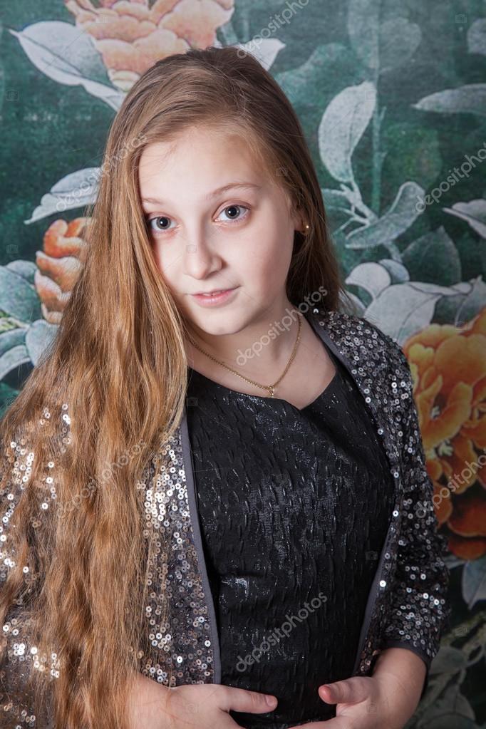 portrait de jeune fille 10 ans photographie igabriela 95669906. Black Bedroom Furniture Sets. Home Design Ideas