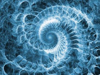 Spiral Motion background