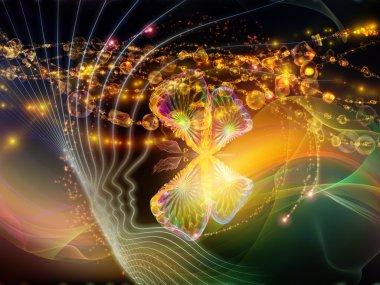 Glow of Inner Lines
