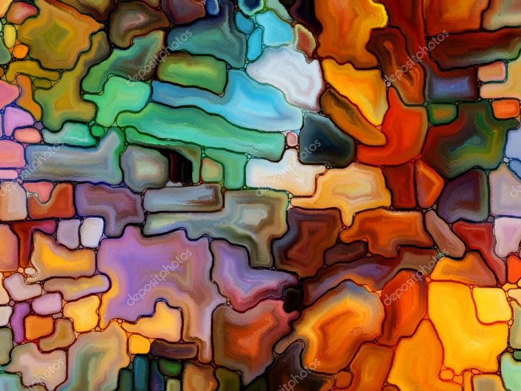 Visualization of Digital Stained Glass