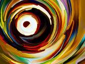 Abstraktní barvy obrazce