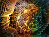 Fotografia geometria interna variopinta