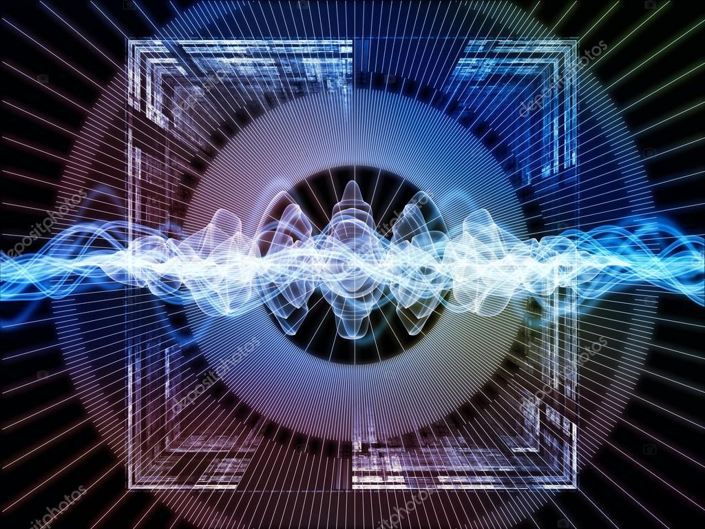 Signal Processing background — Stock Photo © agsandrew ...