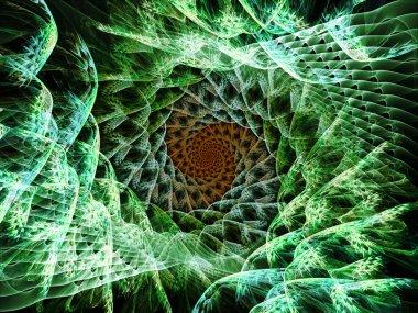 Spiral Elegance background