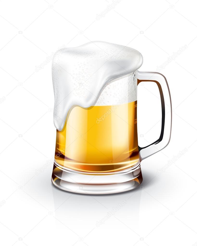ビール イラストの詳細 — ストック写真