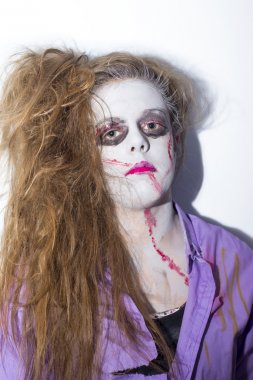 zombie cheerleader girl