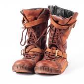 Fotografia Vecchio inverno stivali sneakers