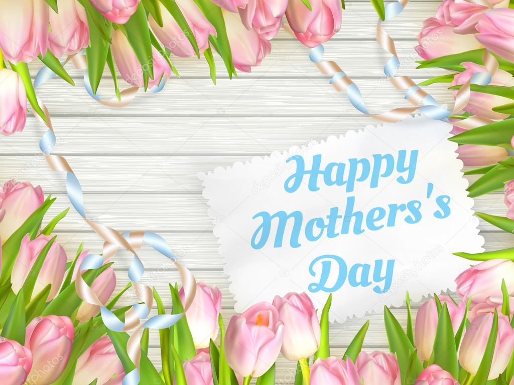 Happy mother day. EPS 10