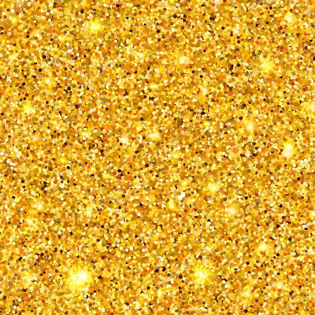 Textura de destellos dorados 10 eps vector de stock for Papel de pared dorado