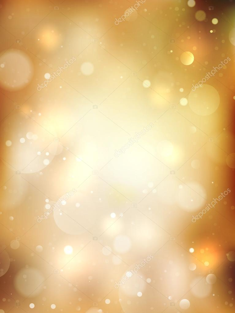 Christmas Golden Background. EPS 10