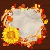 Fotografie Bunte Blätter Hintergrund. Eps 10