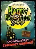 Fotografie Grunge Halloween pozadí. EPS 10