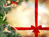 Fényképek Karácsonyfa díszítés. EPS-10