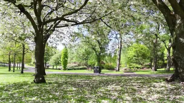 Krásná botanická zahrada v Glasgow, Velká Británie, Metráž
