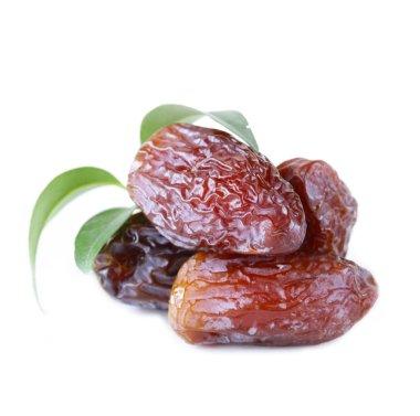 Traditional oriental dessert sweet dried dates fruit