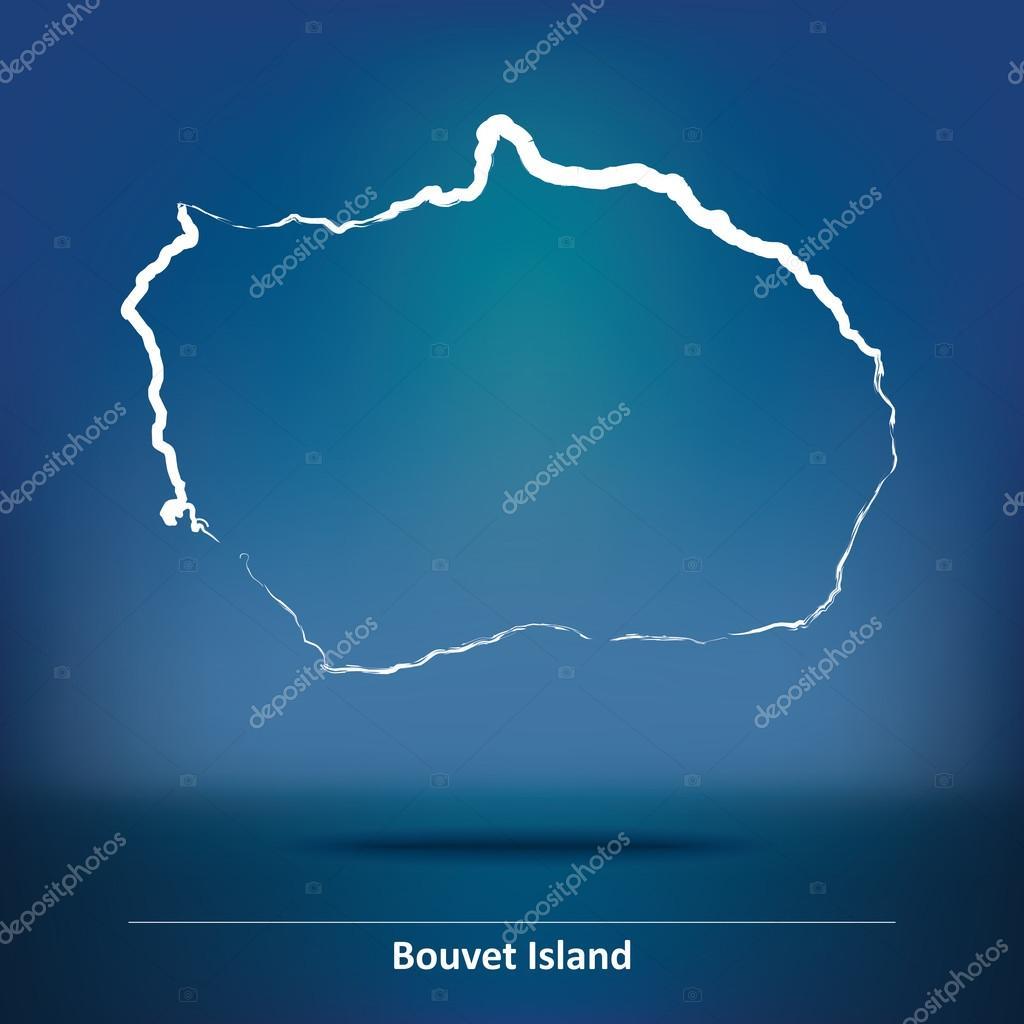 ブーベ島の落書き地図 — ストッ...