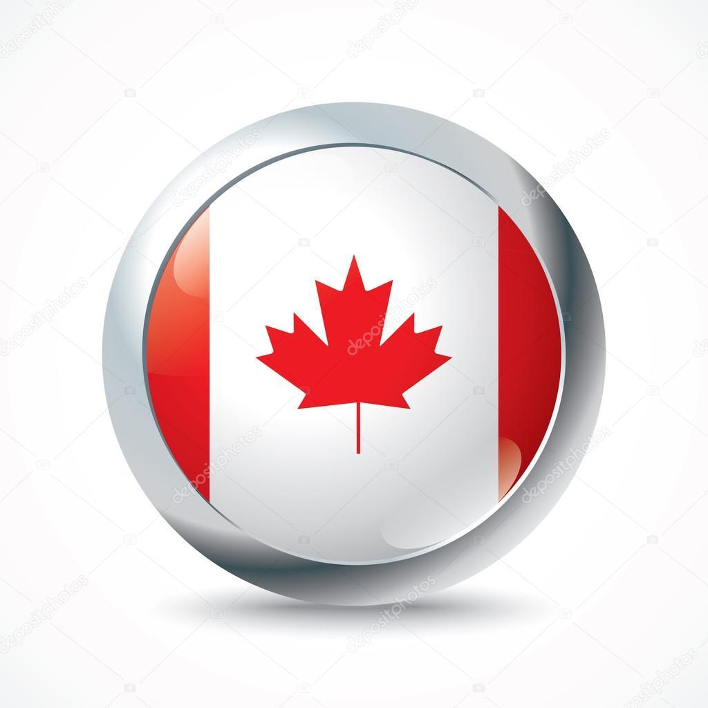Canada flag button