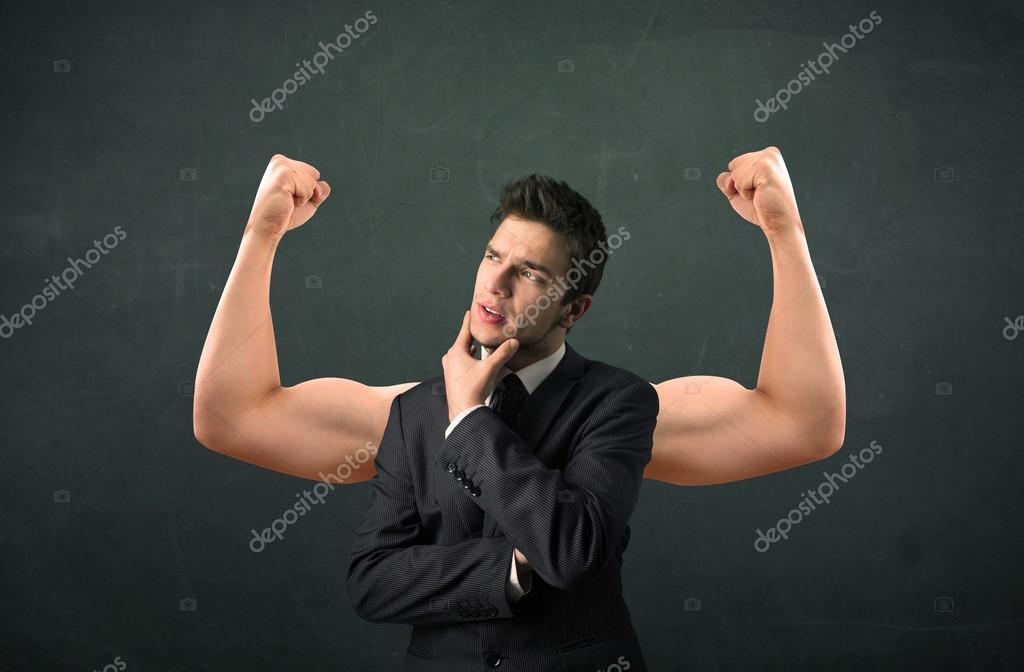 strong and muscled arms concept — Stock Photo © ra2studio #85935904