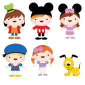 Fotografie Mickey děti strana