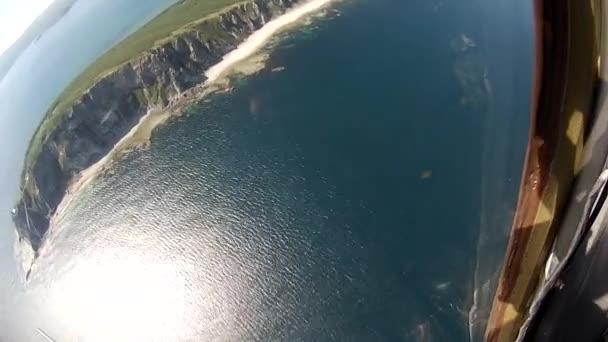 Repülés alatt a Vezérlőpult plane a tengerre.