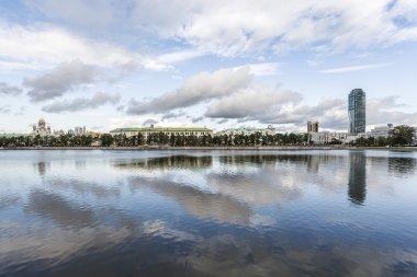 Yekaterinburg waterscape