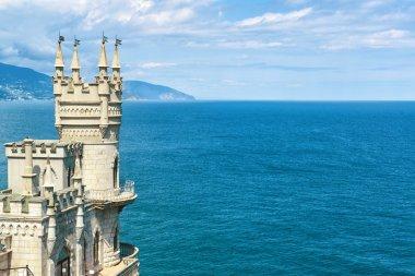 Castle Swallow's Nest on the rock in Crimea