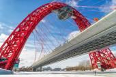 Zhivopisny most přes řeku Moskvu, Moskva