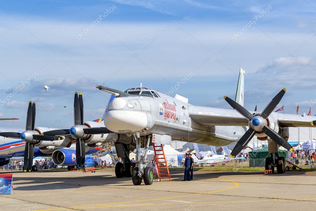 Russian strategic bomber Tupolev Tu-95MS