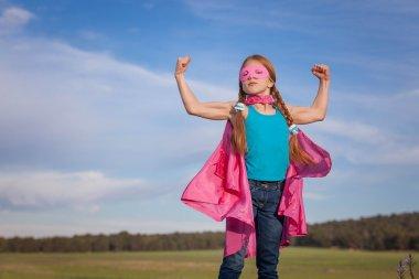 Girl power super hero