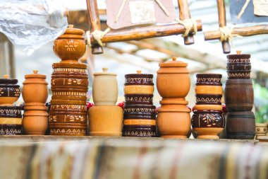 Sale of souvenirs in the historical and cultural reserve