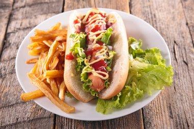 Hot dog, fast food