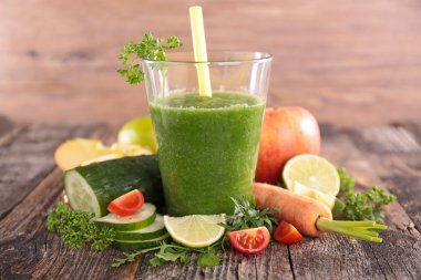 Vegetable green smoothie