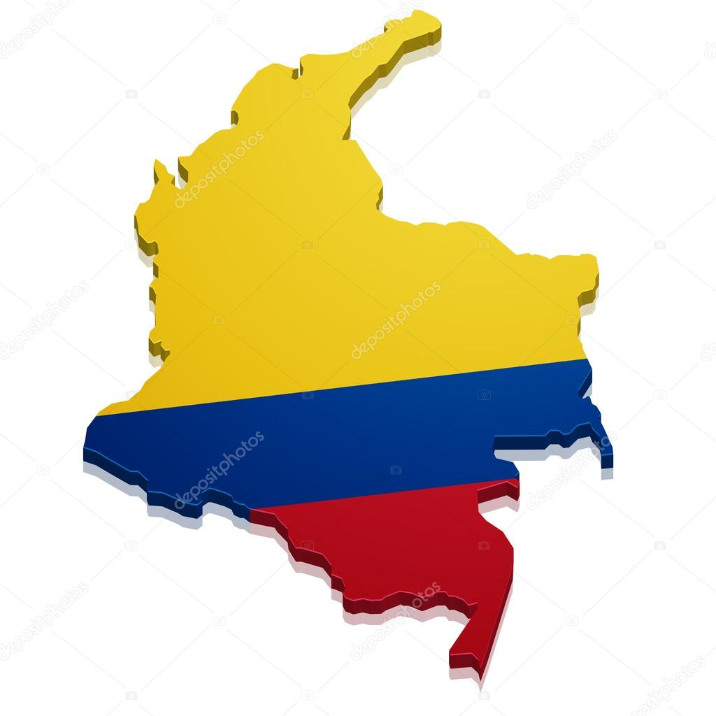 mapa de colombia Vector de stock unkreatives 61767315