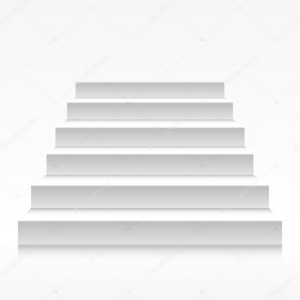 Escaleras blancas vector de stock unkreatives 76446251 - Escaleras blancas ...