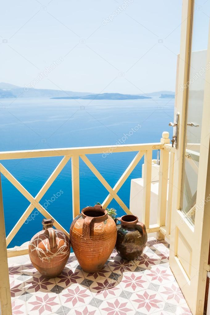 Beautiful sea view from the balcony
